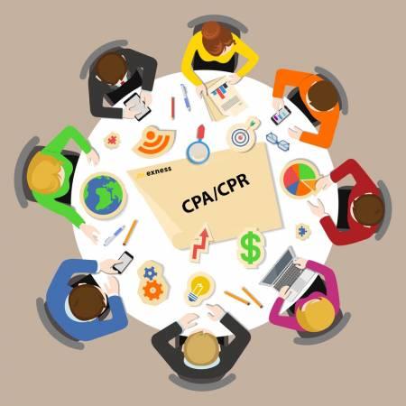 アクションあたりのコスト(CPA)-Exness パートナー向けの登録あたりのコスト(CPR)プログラム
