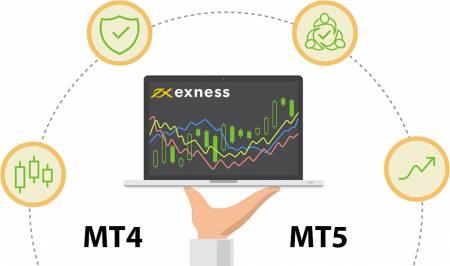 Exness によるMT4とMT5の違い