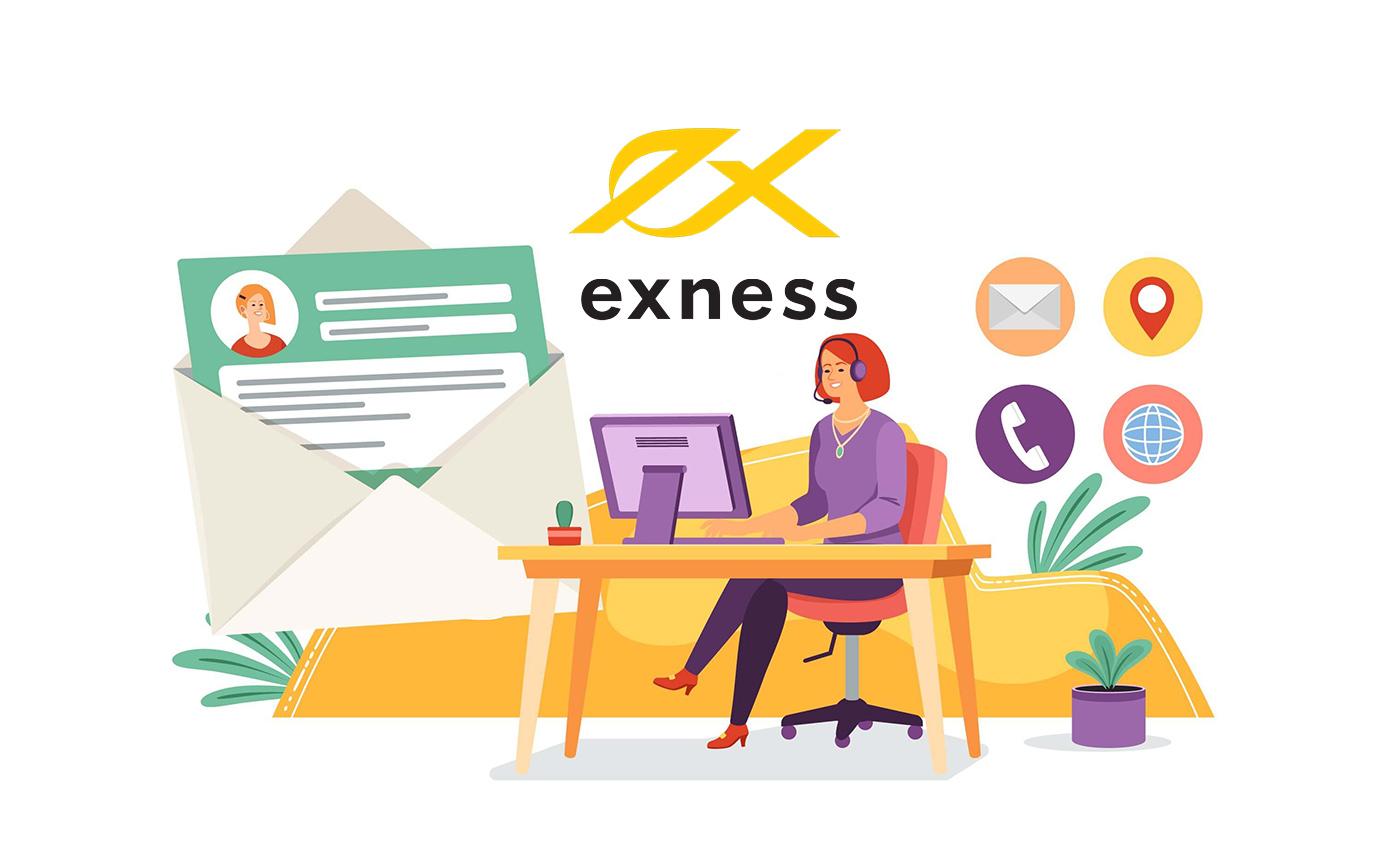 Exnessサポートへの連絡方法