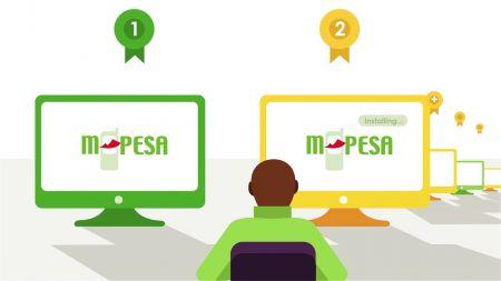 ExnessでM-Pesaを使用した入出金