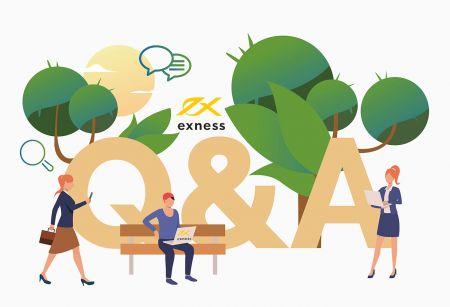 Exnessトレーディングターミナルのよくある質問(FAQ)