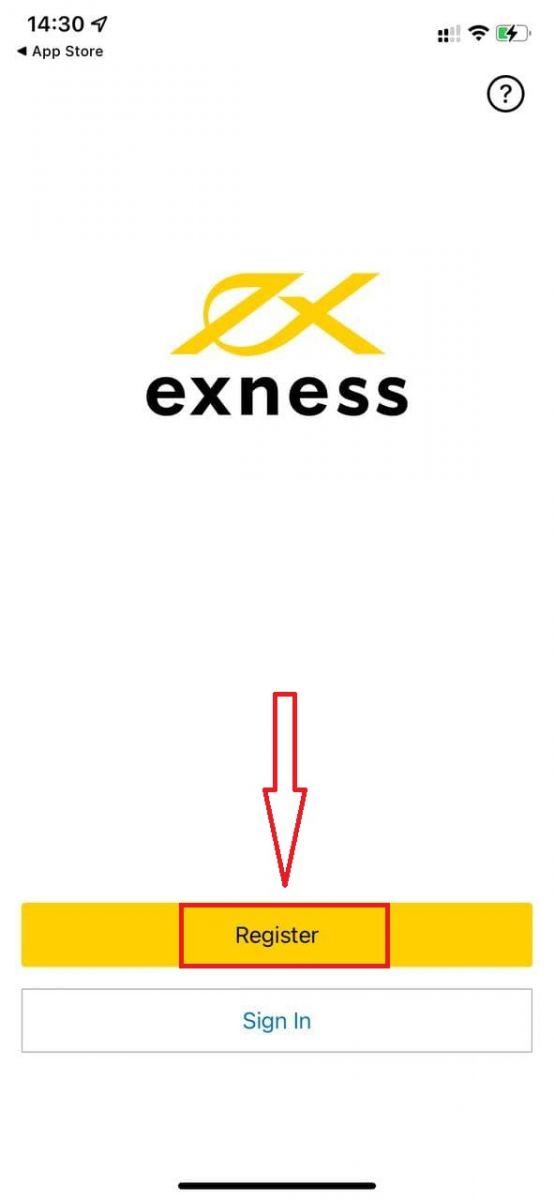 アカウントを開設してExnessにサインインする方法