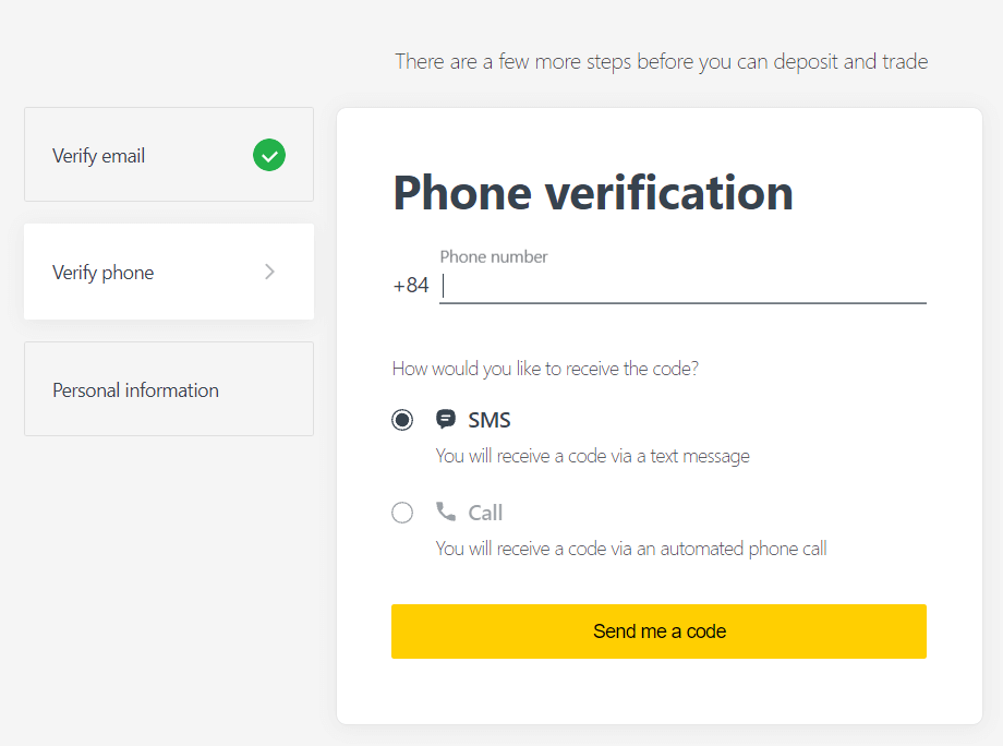 Exnessでアカウントを確認する方法